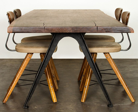 York Dining Table In Smoked Oak
