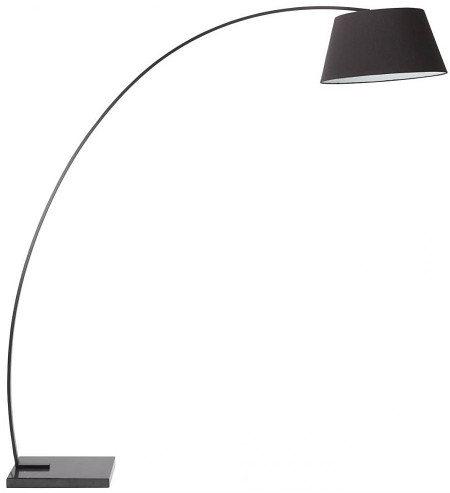 Evan Floor Lamp Black