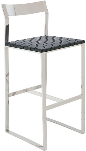 Camille Bar Stool Black