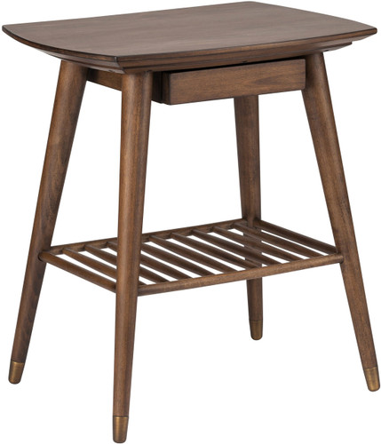 Ari Side Table Walnut Stain