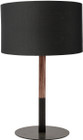 Monroe Table Lamp Black