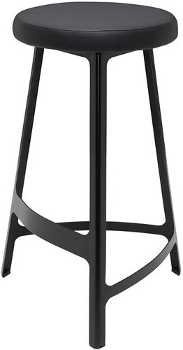 Hyku Bar Stool Black