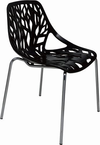 Fauna Dining Chair, Black - Set Of 4