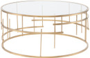 Tiffany Coffee Table Brushed Gold