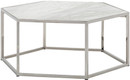 Hexion Coffee Table Stainless Steel