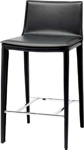 Nuevo Palma Counter Stool Black