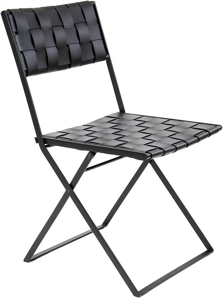 Phenomenal Folding Leather Chair Pabps2019 Chair Design Images Pabps2019Com