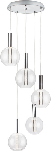 Irene Five Pendant Lamp
