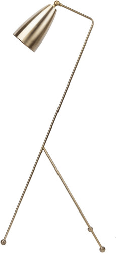 Brass Reading Floor Lamp