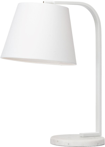 Beton Table Lamp In White