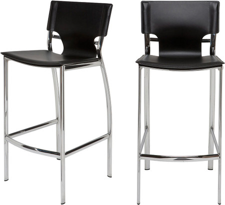 Lisbon Bar Stool Black