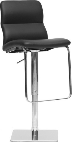 Baxton Studio Helsinki Black Modern Bar Stool