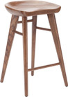 Kami Stool Ash Stained Walnut