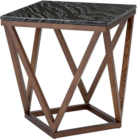 Jasmine Side Table Black