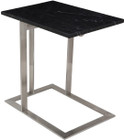 Dell Side Table Black Marble