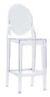Ghost Victoria Counter Stool Clear