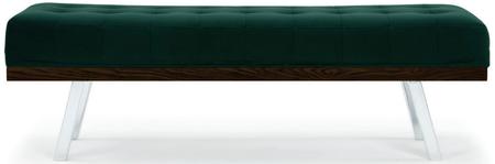 Rikard Bench Emerald Green