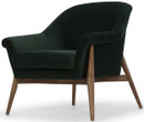 Charlize Single Seater Emerald Green