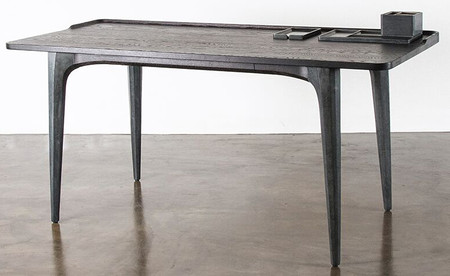 Salk Desk Seared Oak
