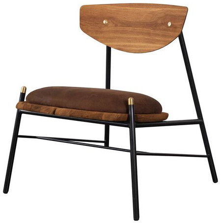 Kink Occasional Chair Umber Tan