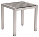 Cosmopolitan Side Table B. Aluminum