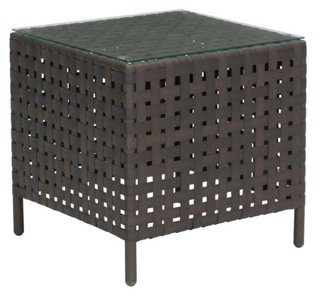 Zuo Modern Pinery Side Table Brown