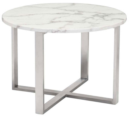 Zuo Modern Globe End Table Stone
