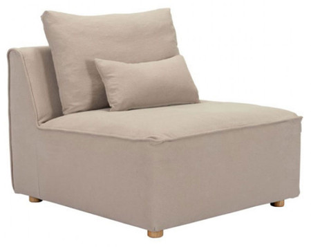 Zuo California Single Chair Stone