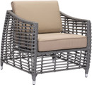 Trek Beach Arm Chair Gray & Beige