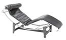Corbusier Chaise Black