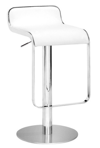 Equino Bar Stool in White
