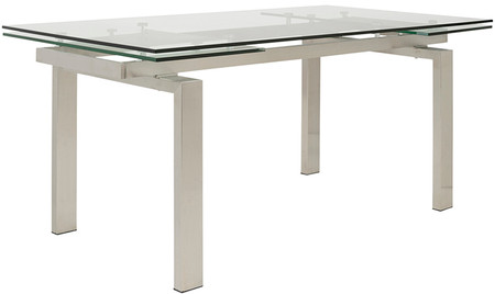 Movimento Extendable Dining Table Stainless Steel