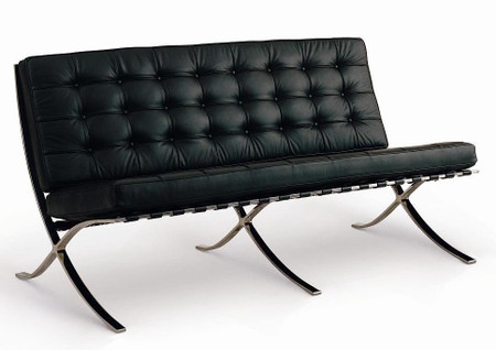 Exposition Italian Leather Loveseat