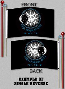 Total Solar Eclipse Flag