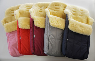 Universal Genuine Baby Medical Sheepskin | Lambskin | Footmuff | Premium Quality