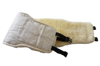 Genuine Natural Medical Sheepskin Belt | Hip | Waist | Lower Back | Lumbar Warmer | Relief Pain | Kidney Lumbar Supports | Winter Warming