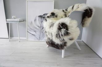 Genuine Natural Single Sheepskin Rug - Soft Thick Wool - Beige | Brown | Black | Cream White - SN 242