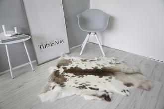 Genuine Super Soft - Extra Large Scandinavian Reindeer Skin Rug  RE 399
