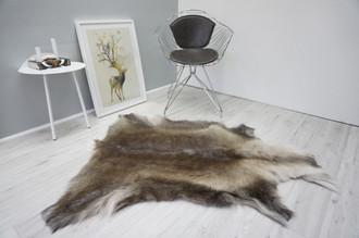 Genuine Premium Quality Super Soft - Extra Large Scandinavian Reindeer Caribou Skin | Rug | Hide | Pelt - RE 423