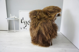 Genuine Icelandic Sheepskin Rug | Sheepskin Rug | Sheepskin Hide | Icelandic Sheepskin | Long Wool Rug | Natural Colour | Rare Breed SI 483