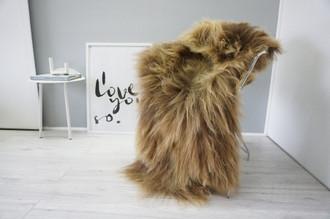 Genuine Icelandic Sheepskin Rug | Sheepskin Rug | Sheepskin Hide | Icelandic Sheepskin | Long Wool Rug | Natural Colour | Rare Breed SI 484
