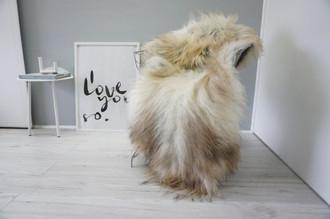 Genuine Icelandic Sheepskin Rug | Sheepskin Rug | Sheepskin Hide | Icelandic Sheepskin | Long Wool Rug | Natural Colour | Rare Breed SI 487