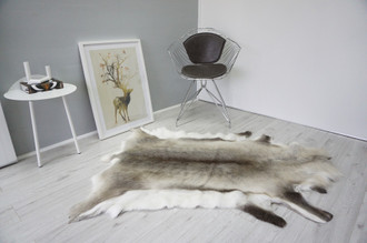 Genuine Scandinavian Reindeer Pelt Rug  Hide | Animal Decor RE 497
