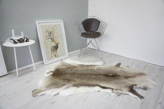 Genuine Scandinavian Reindeer Pelt Rug  Hide | Animal Decor RE 498