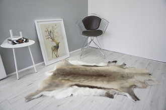 Genuine Scandinavian Reindeer Pelt Rug  Hide | Animal Decor RE 500