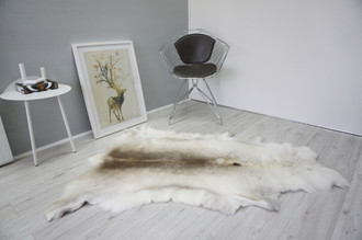 Genuine Scandinavian Reindeer Pelt Rug  Hide | Animal Decor RE 507