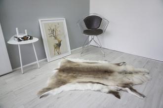 Genuine Scandinavian Reindeer Pelt Rug  Hide | Animal Decor RE 510