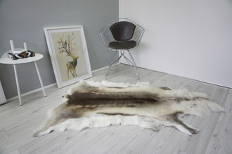 Genuine Scandinavian Reindeer Pelt Rug  Hide | Animal Decor RE 512
