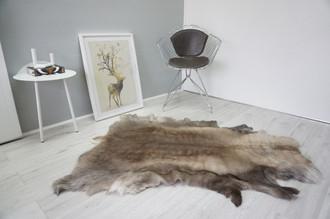 Genuine Scandinavian Reindeer Pelt Rug  Hide | Animal Decor RE 515
