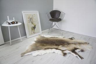 Genuine Scandinavian Reindeer Pelt Rug  Hide | Animal Decor RE 516